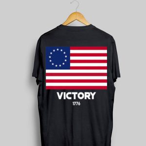 Betsy Ross Flag Symbolism Victory 1776 4th Of July shirt