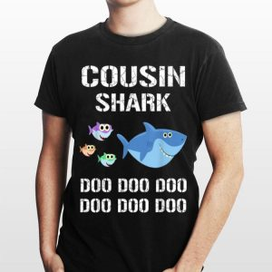 Cousin Shark Doo Doo Doo Family shirt