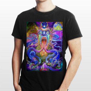 DMT Spirit Molecule Trippy Psychedelic shirt