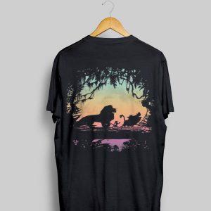 Disney Lion King Gradient Jungle Trio Graphic shirt