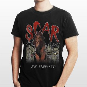Disney The Lion King Scar & Hyenas Be Prepared shirt
