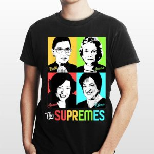 Female Supreme Ruth Sandra Sonia Elena shirt