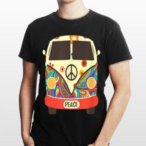 Hippies Peace Bus Costume shirt