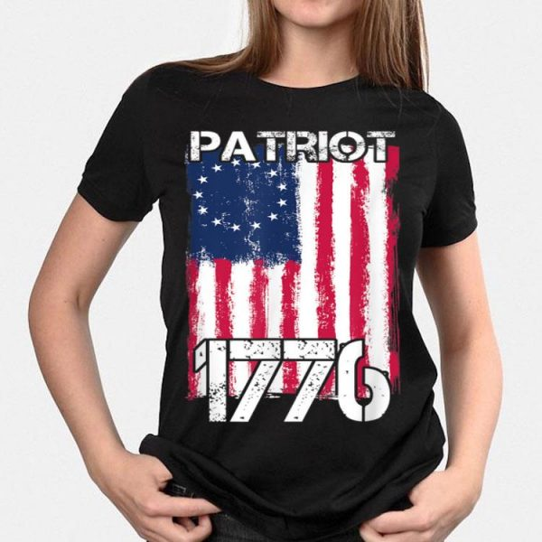 Independence Day Patriot 1776 Betsy Ross Flag 4th Of July shirt