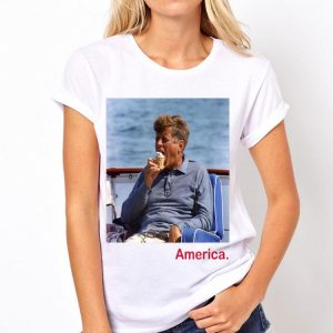 John Fitzgerald Kennedy Ice Cream America 4th of July shirt