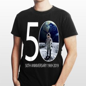 Moon Landing 50th Anniversary Nasa Astronaut 1969-2019 shirt