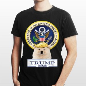 My Chow Chow Trump Hair Great Seal Of The United States shirt