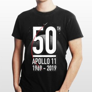Nasa Anniversary 50th Apollp 11 1969 - 2019 Moon Landing shirt