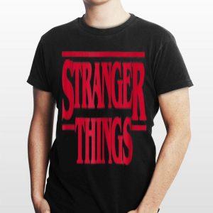 Netflix Stranger Things Logo shirt