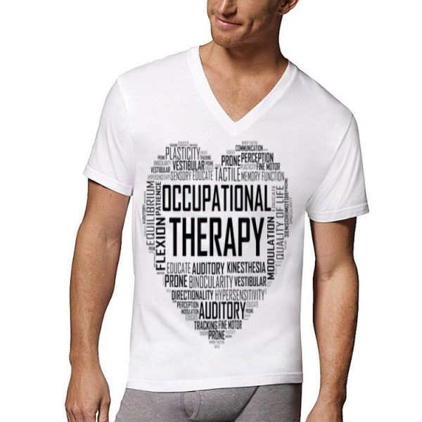 Occupational Therapy Heart shirt