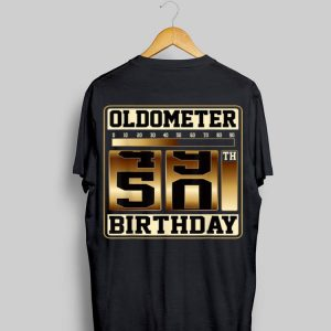 Oldometer 49-50 Birthday shirt