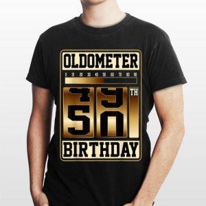 Oldometer 49-50 Birthday shirt
