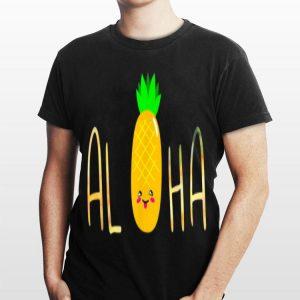 Pineapple Fruit Aloha Beaches Hawaii shirt