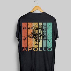 Retro Apollo 11 50th Anniversary Moon Landing 1969 shirt