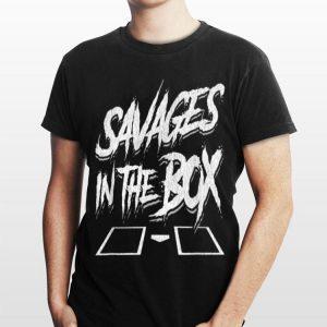 Savages In The Box Baseball shirt