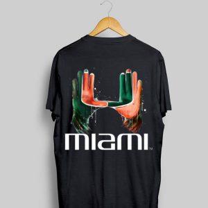The Hand Miami Hurricanes shirt