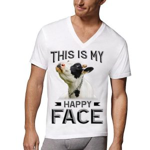 This Is My Happy Face Cows shirt
