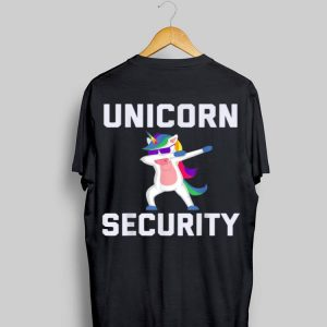 Unicorn Security Dab With Sunglass shirt