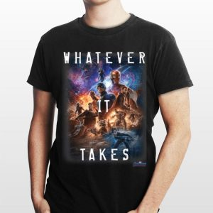 Universe Marvel Avengers Endgame Movie Poster Whatever It Takes shirt
