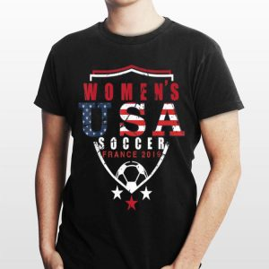 Women's Usa Soccer France World Cup 2019 shirt