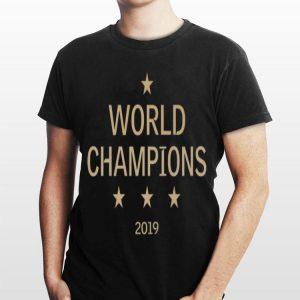 World Champion 2019 Us Women Soccer Team Win shirt