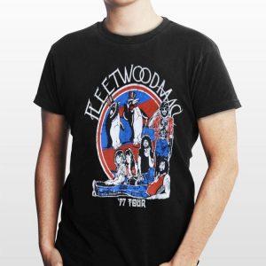 fleetwood mac 77 Tour shirt
