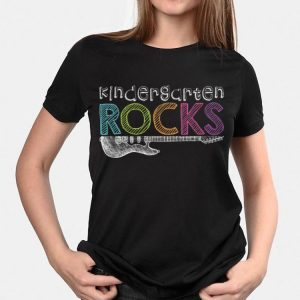 Kindergarten Rocks With Guitar Electric shirt