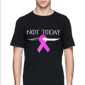 Breast Cancer Awareness Not Today Game Of Throne shirt 2
