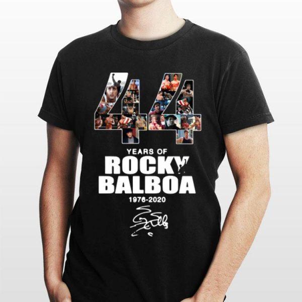 44 Years Of Rocky Balboa 1976-2020 signature shirt