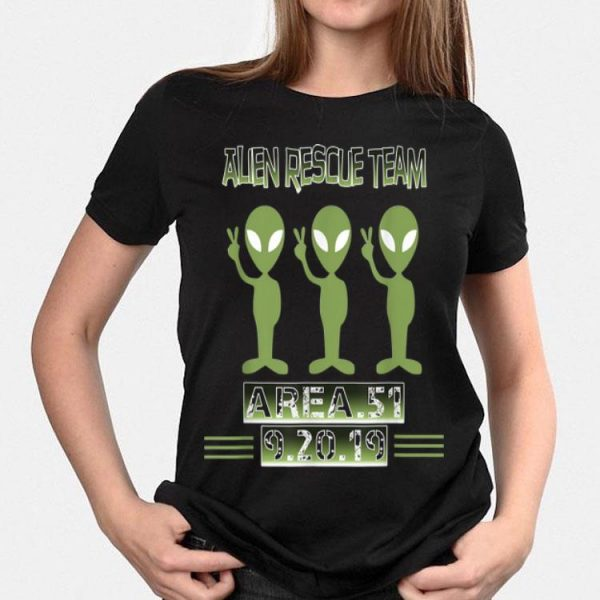 Alien Rescue Team Area 51 shirt