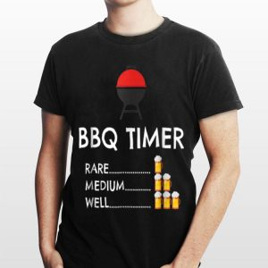 BBQ Timer Barbecue shirt