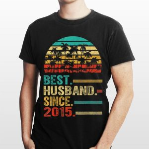 Best Husband Since 2015 Vintage shirt