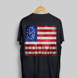 Betsy Ross Flag Donald Trump 2020 shirt
