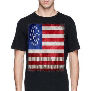 Betsy Ross Flag Donald Trump 2020 shirt