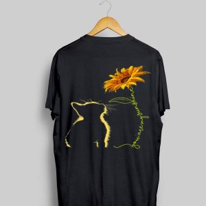 Cat You Are My Sunshine Sunflower shirt