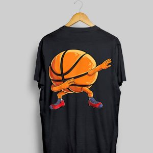 Dabbing Basketball Ball shirt