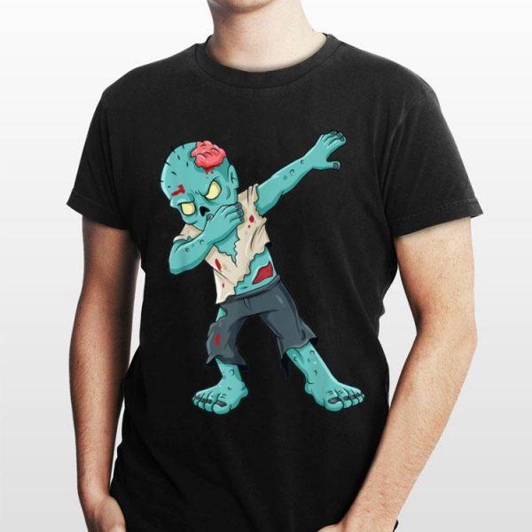 Dabbing Zombie Halloween shirt