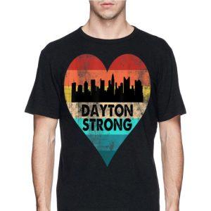 Dayton Strong Ohio Heart Vintage shirt