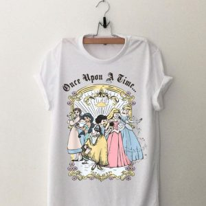 Disney Cartoon Princess Once Upon A Time shirt