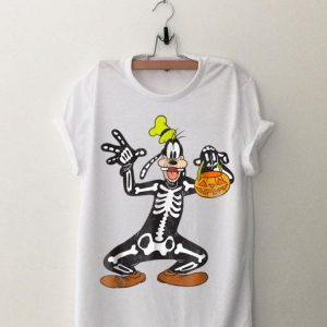 Disney Goofy Skeleton Halloween shirt