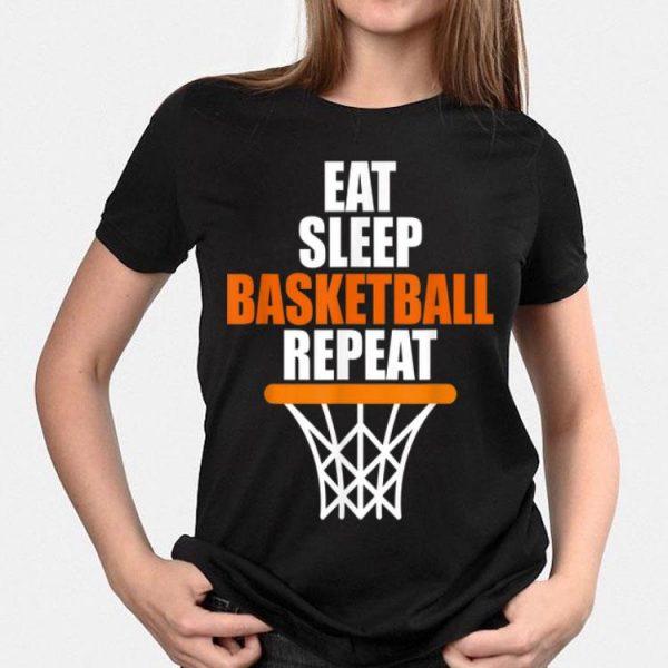Eat Sleep Basketball Repeat shirt