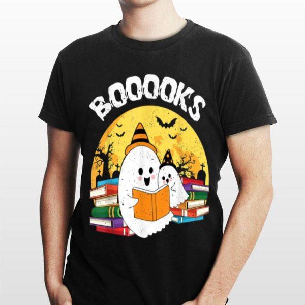 Ghost Reading Books Halloween shirt