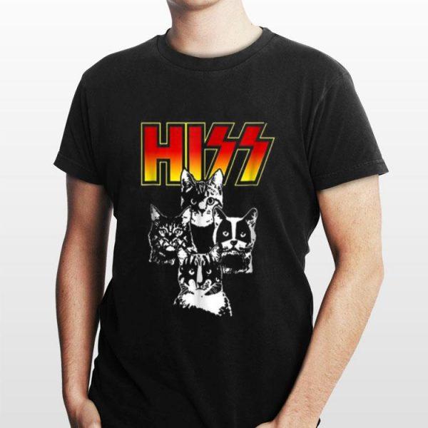 Hiss Kitten Cats Rock shirt