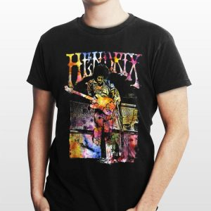 Jimi Hendrix Watercolor shirt