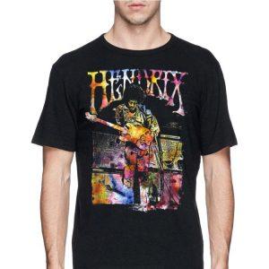 Jimi Hendrix Watercolor shirt