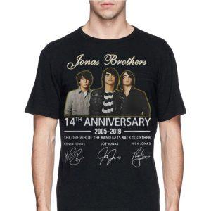 Jonas Brothers 14th Anniversary Signature shirt