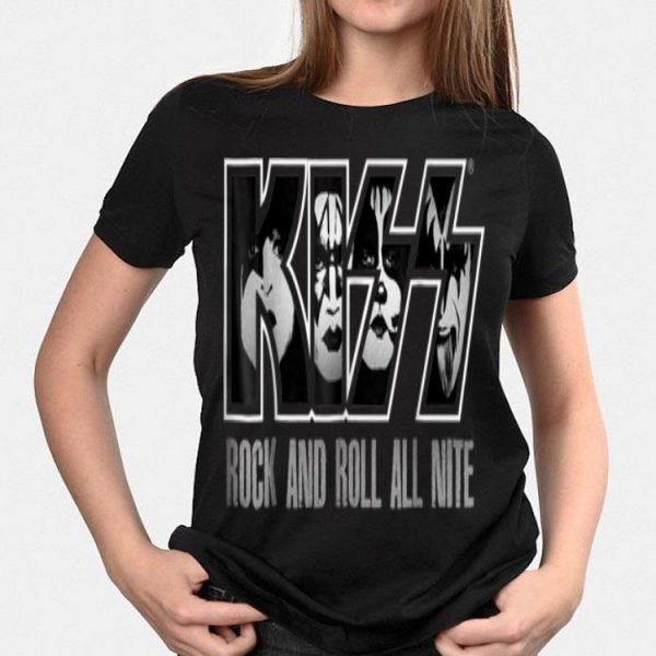 Kiss Rock And Roll All Nite shirt
