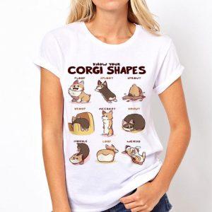 Know Your Corgi Shapes shirt