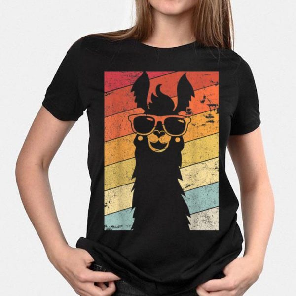 Llama Alpaca Vintage shirt