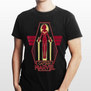 Marvel Captain Marvel Airborne Carol Danvers shirt